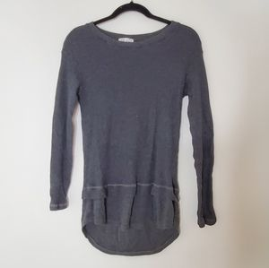 Feel the Piece XS S Gray Thermal Soft Shirt